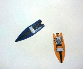 Micro Camphor Boat