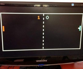 VGA Pong with Arduino Uno