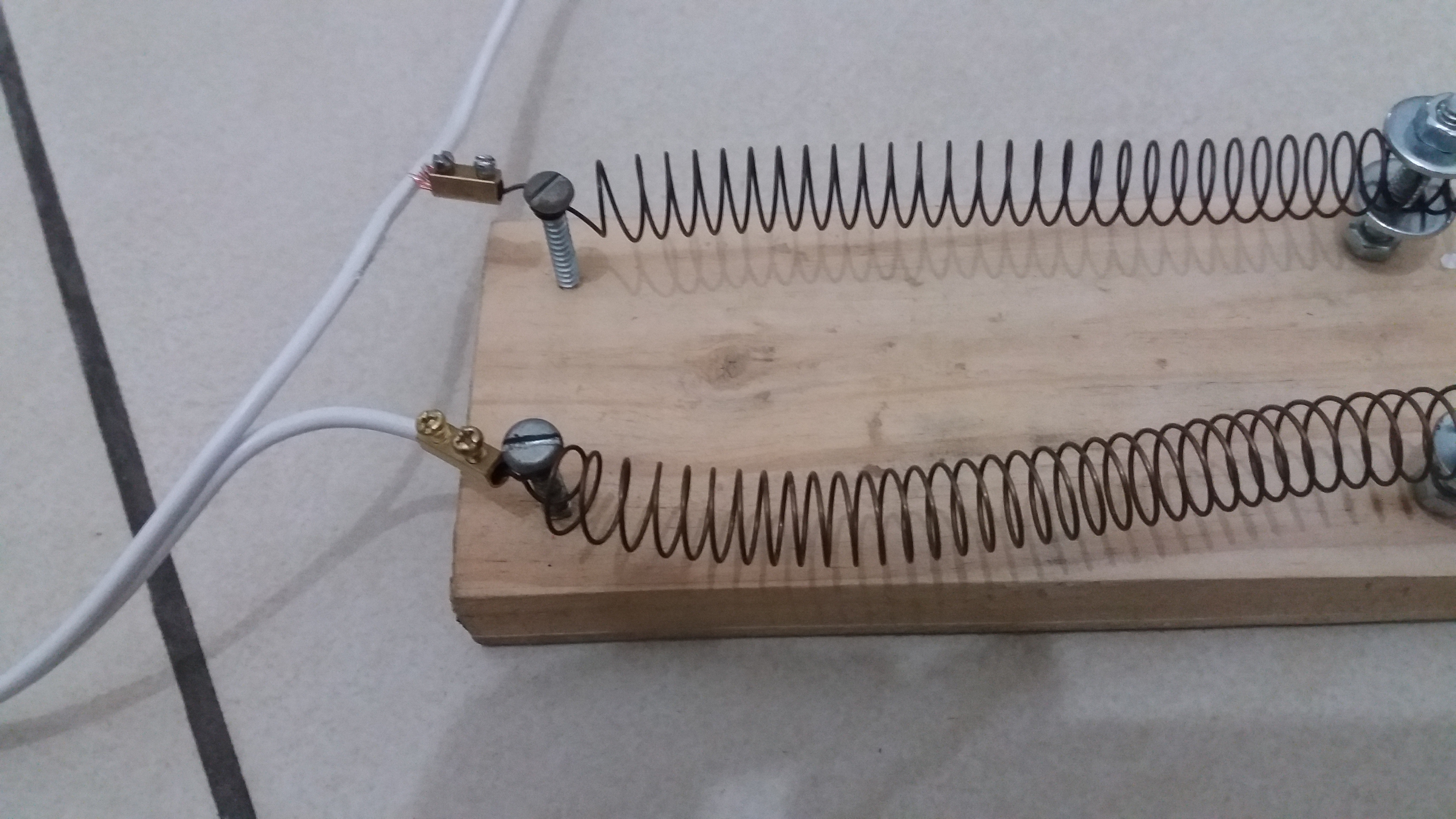 Picture of Set Up the Voltage Divider