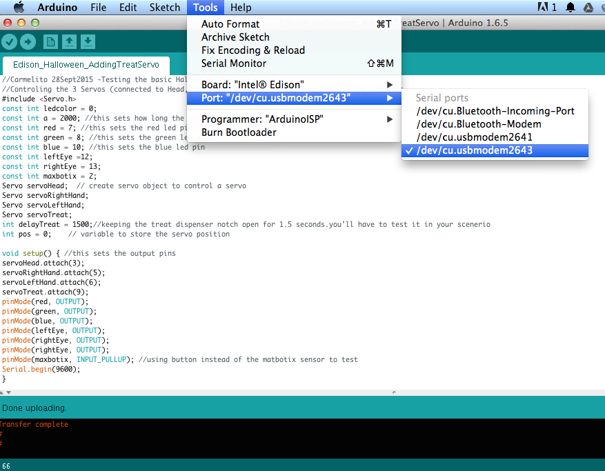 Picture of Uploading the Arduino Code and Testing