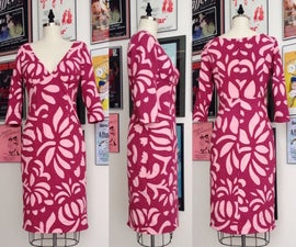 Hand Appliquéd Dress