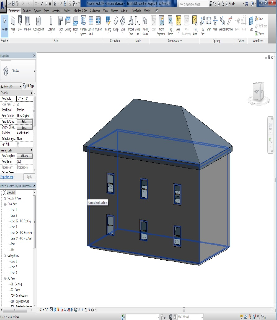 Picture of Viewing Your Building Progress in 3D