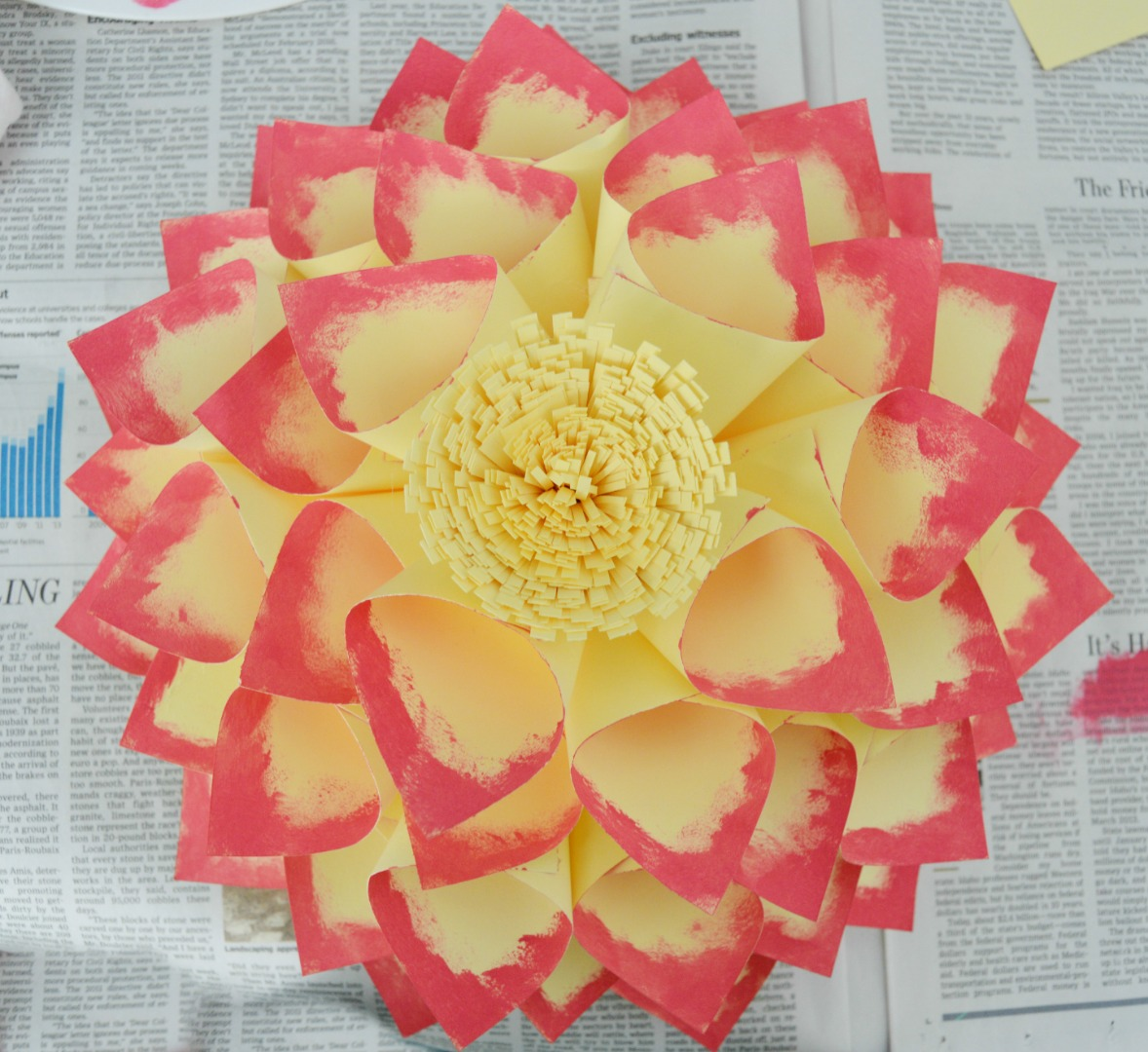 DIY Paper Dahlia: 10 Steps (with Pictures)