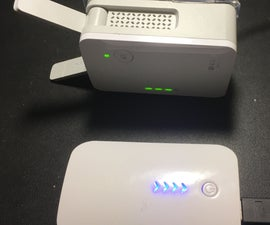 USB Battery Powered Wireless WiFi Extender