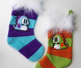 Puzzle Bobble Christmas Stockings