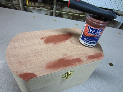 Filling and Sanding