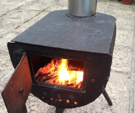 Frontier Stove From Gas Bottle