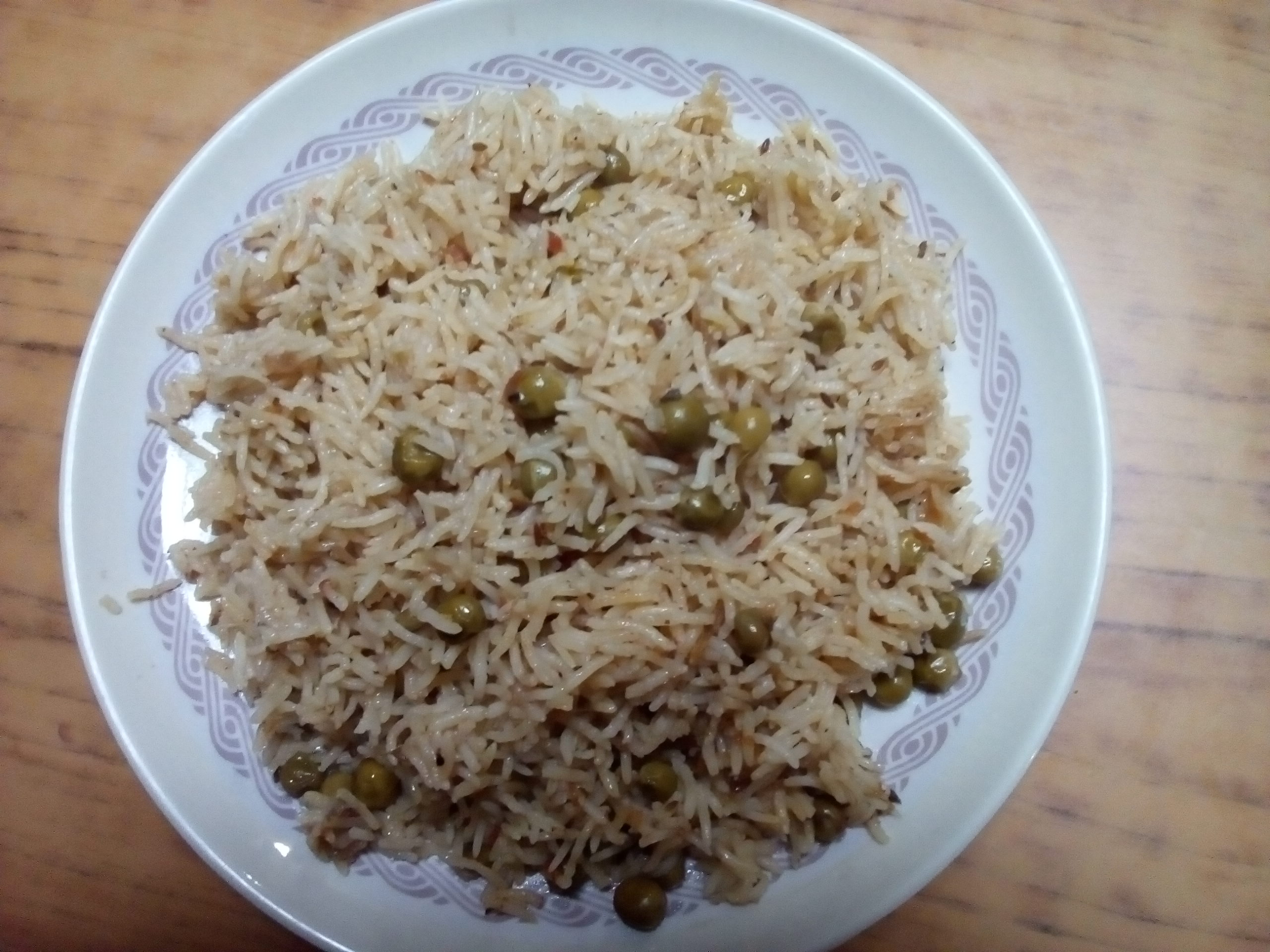 Picture of Peas Pulao