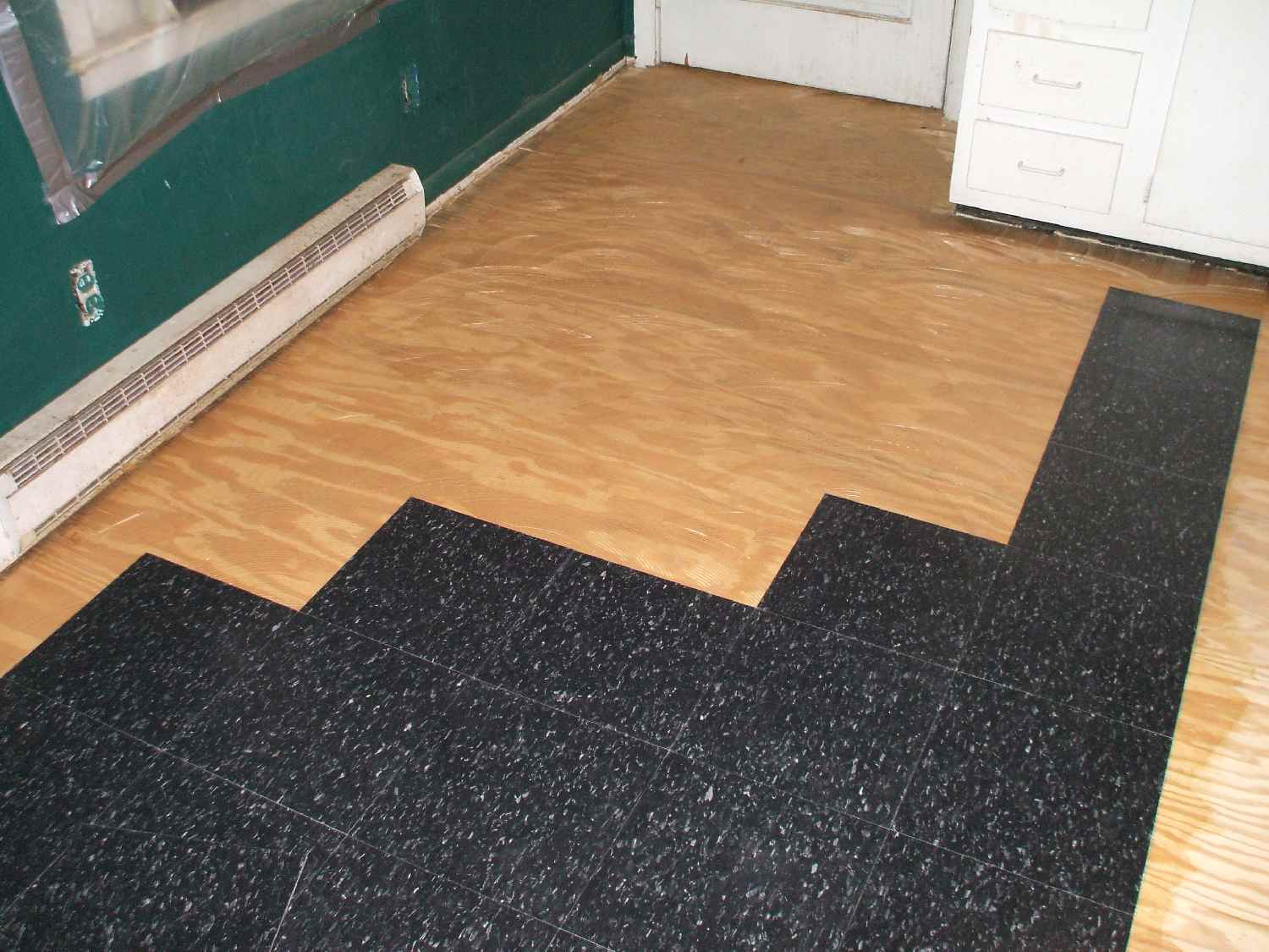 How To Install Commercial Grade Resilient Tile 6 Steps