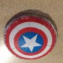 Diy Mini Captain America Shield