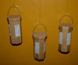 Lovely hanging lanterns