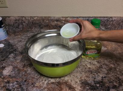 Adding the Oil
