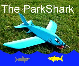 The Great Blue ParkShark RC Airplane