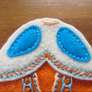 Bug 3 - Stitch Pieces and Embroider