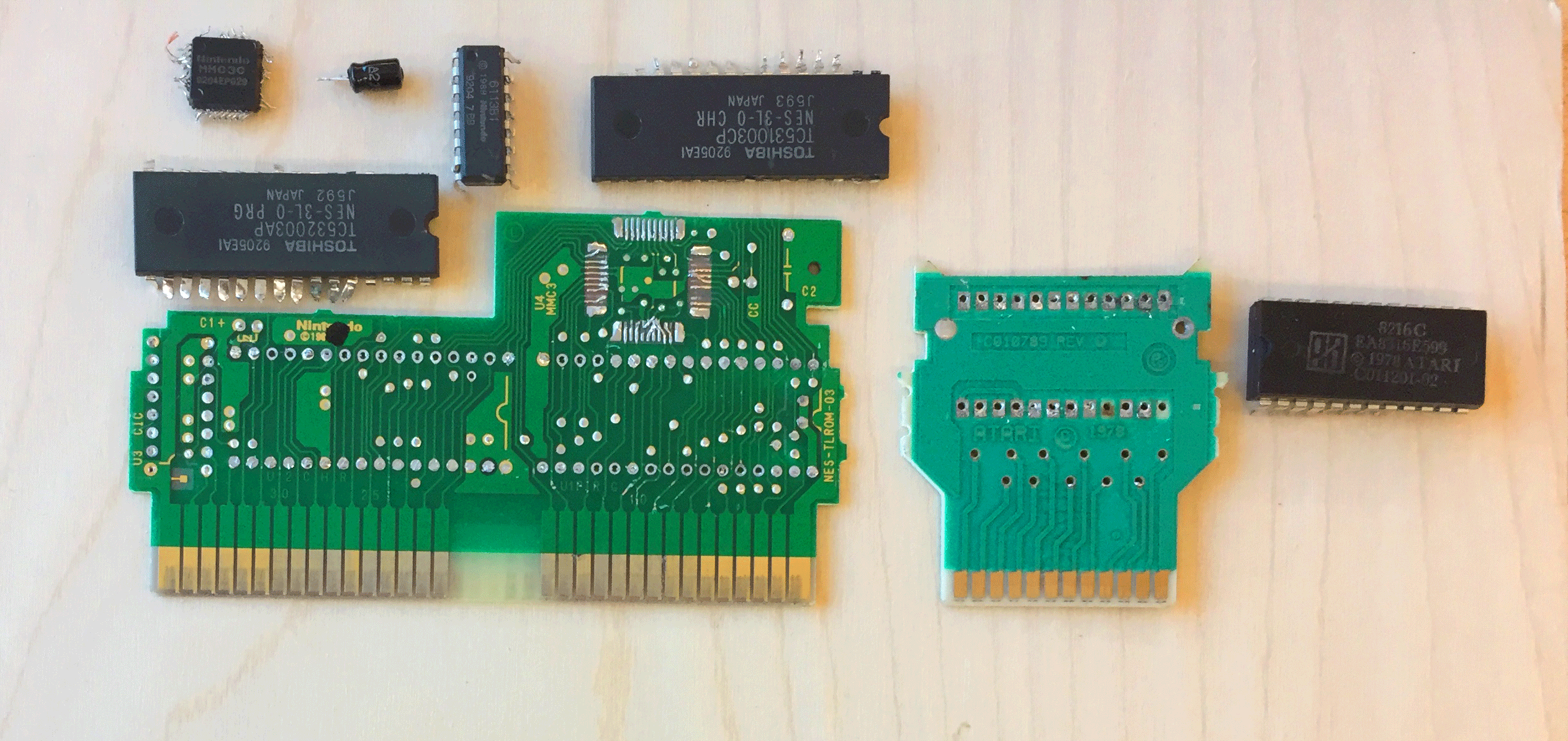 Picture of Acquire PCB and Remove Chips