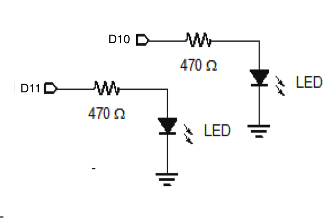 Picture of Connect the LEDs
