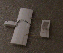 RC plane build with CD Rom Motor ( Brushless motor ) ; first attempt !!