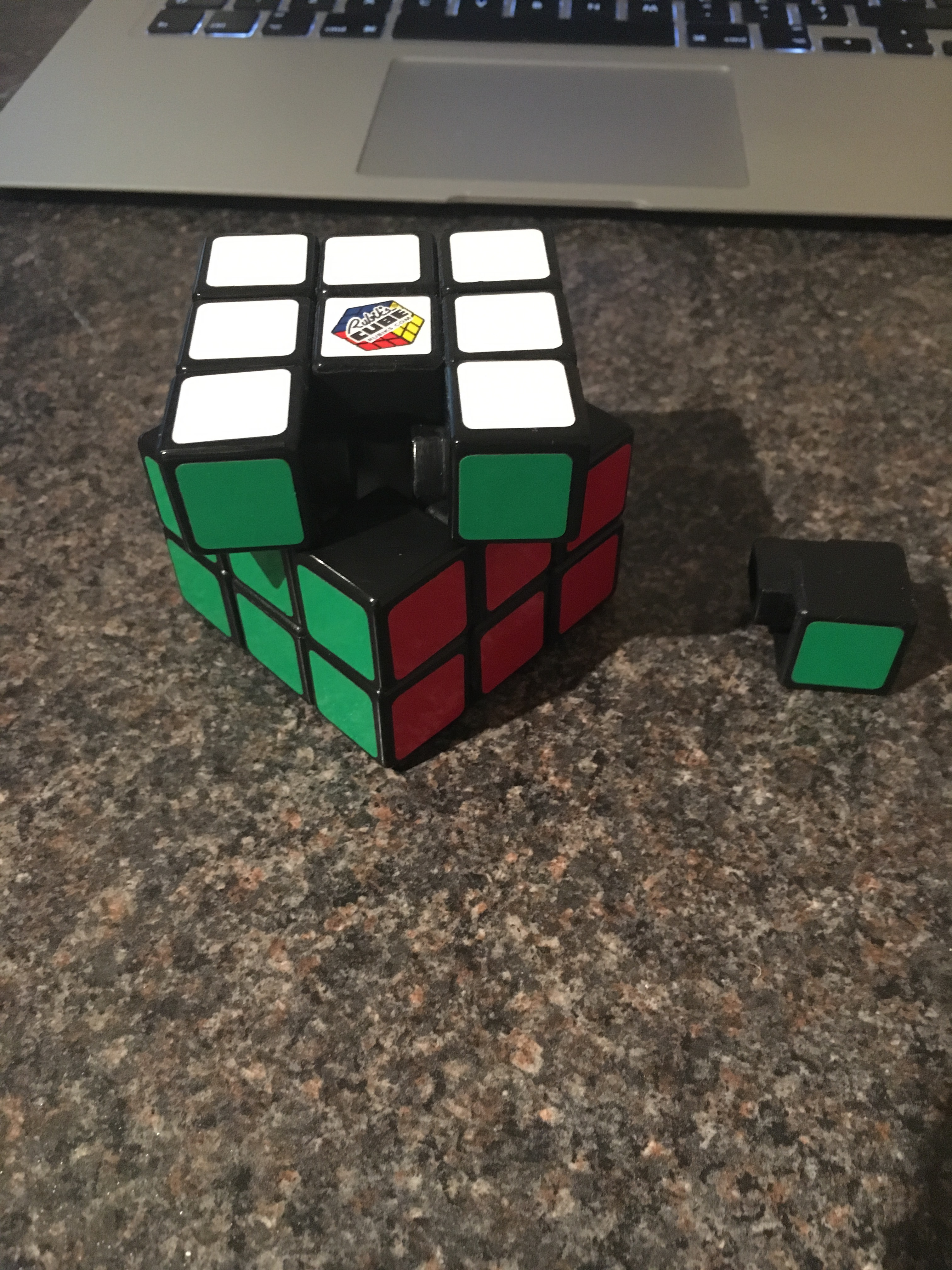 Picture of Disassembling Your Rubik's Cube