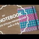 DIY Cute and stylish personalized notebook - PART 1 [Fai da te - Agenda personalizzata carina ed elegante  - PARTE 1]