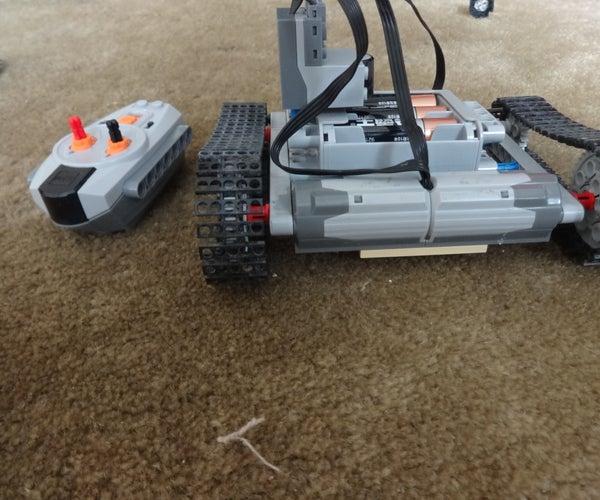 Lego Rc Tank Version 2.0