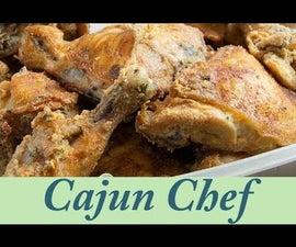 Crispy Fried Smoked Chicken