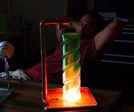 Illuminated Twist Vase