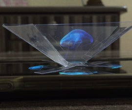 Make a 3D projector & learn how to turn any video into a hologram