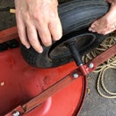 How to Inflate a Tubeless Wheelbarrow Tire That Defies Inflation