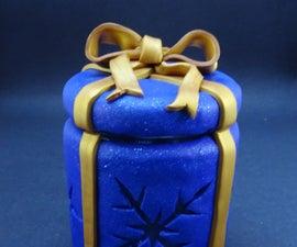 Polymer Clay Gift Jar/night Light