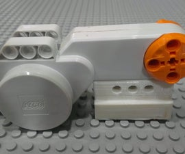 Lego NXT motor stand