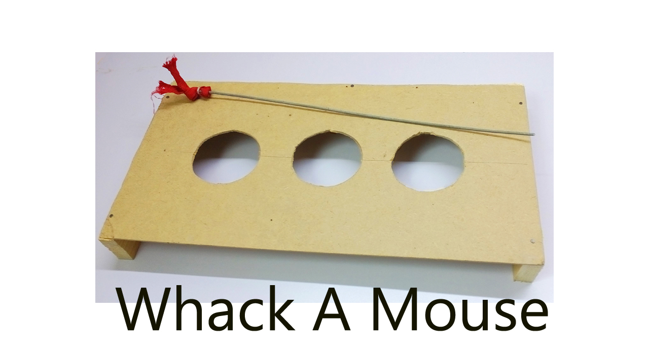 Picture of Whack-A-Mouse Cat Toy Game