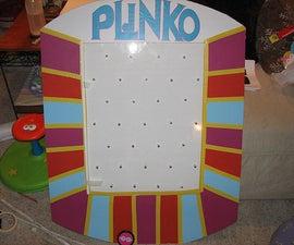 """Make a """"Plinko"""" prize board (or costume!)"""