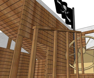 A Pirate Ship Play Ground Space