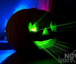 Laser Pumpkin