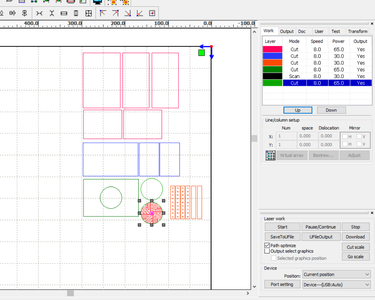 Plans and Laser Cutting