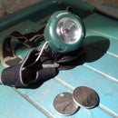 Led Headlamp With Reuse Cellphone Battery For More Longest Power