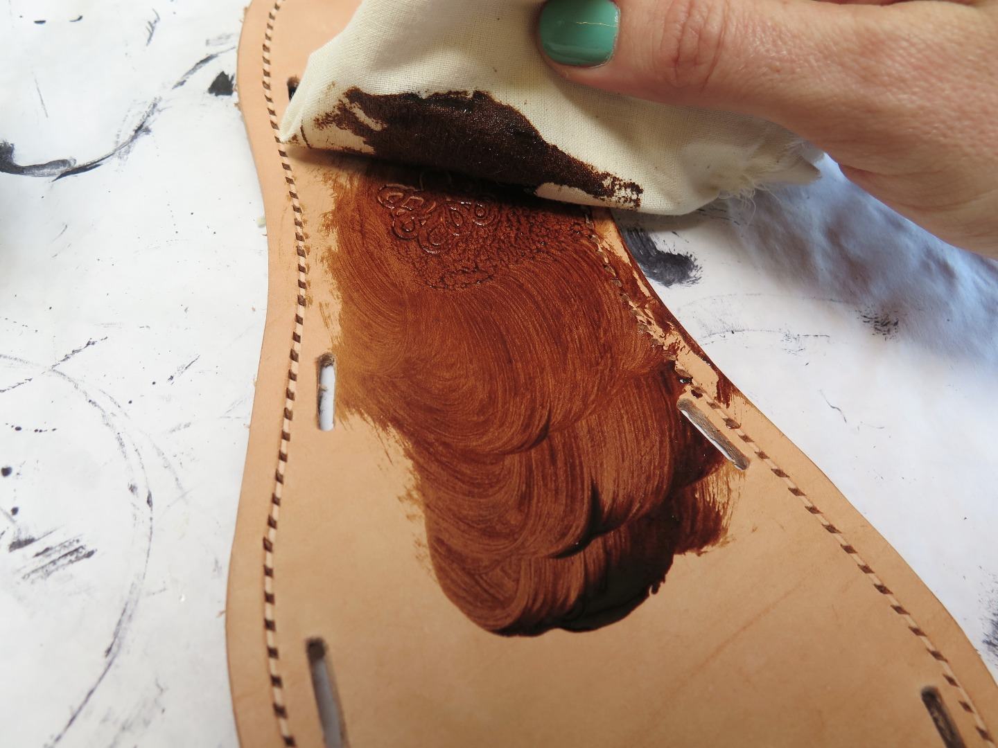 Picture of Finishing the Sole