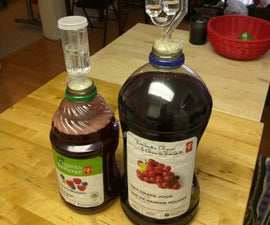 An Easy Method for Hard Juice Wine