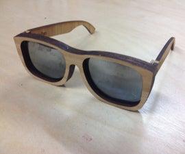 $5, No Tool, Bamboo Sunglasses