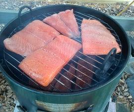 Smoker Smoked Salmon