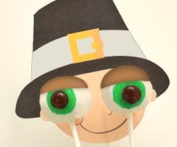 Eyeball Cake Pops for Thanksgiving