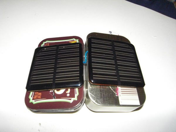 Double Joule Solar Thief All Contained in a Mint Tin