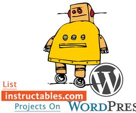 Instructables Wordpress Plugin