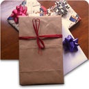 Grocery Bag Wrapping Paper