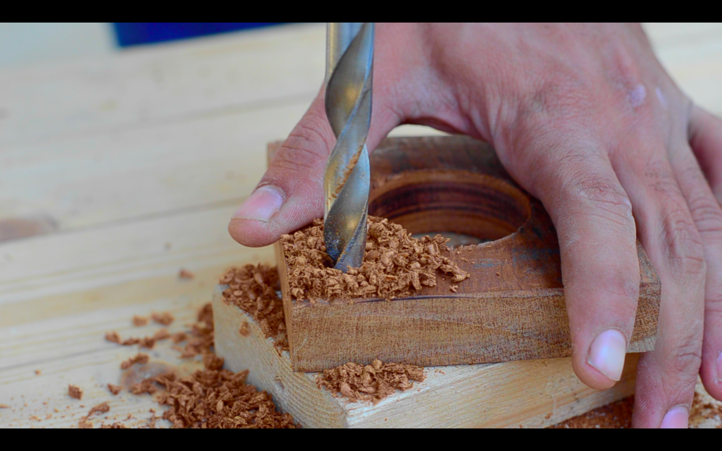 Picture of Shaping the Wooden Blocks