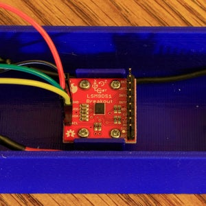 Mount and Wire the Accelerometer