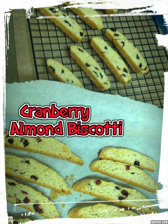 Picture of Beginner Cranberry Almond Biscotti