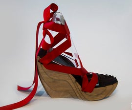 Laser Cut Shoe