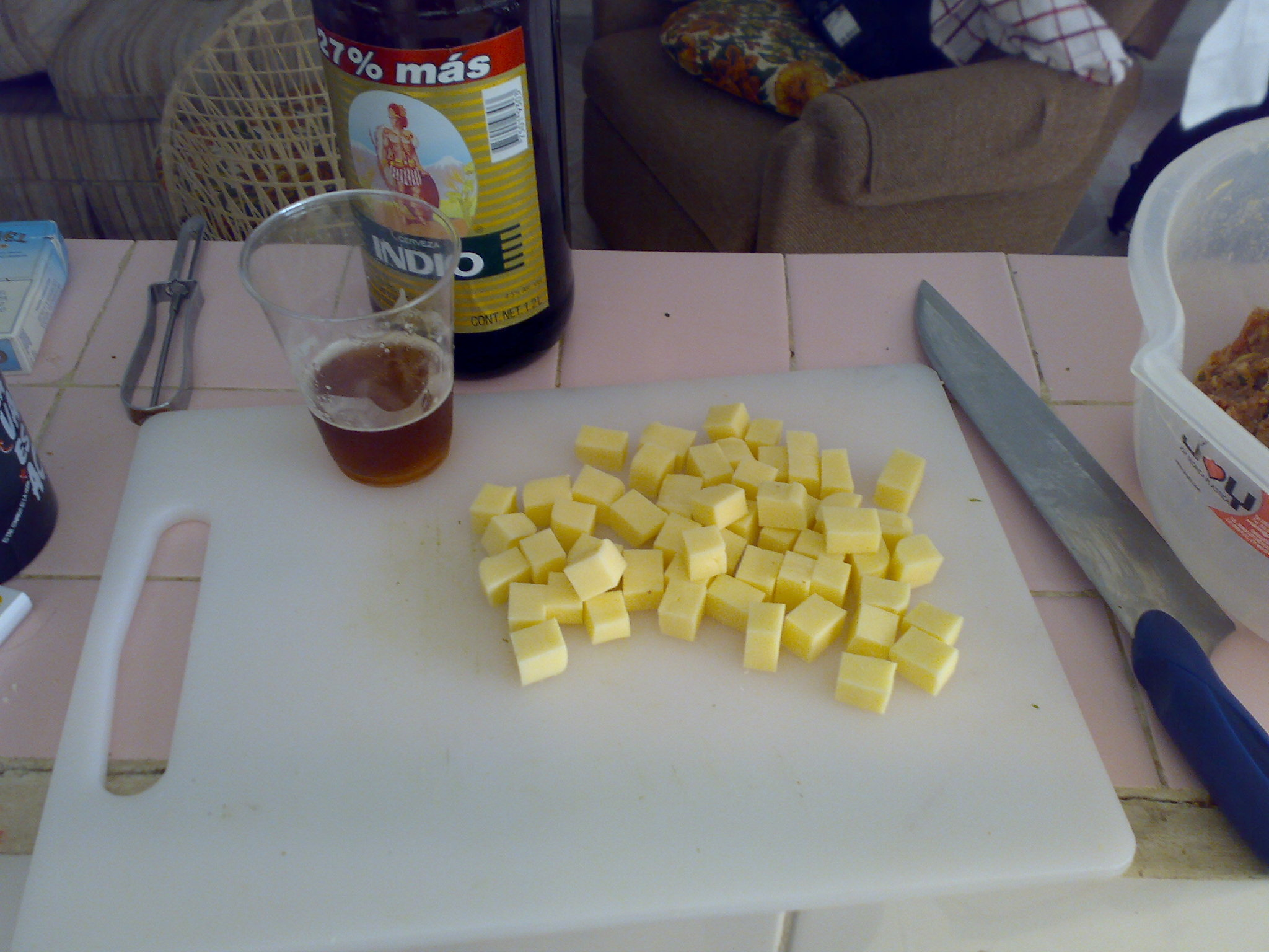 Picture of While the Meat Rests, Cut the Cheese