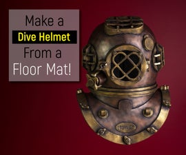 Recreating an Antique Divers Helmet From Foam